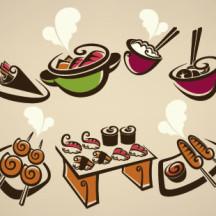 食べ物・料理 ベクターイラスト素材