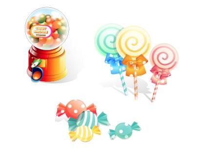 キャンディー・飴 ベクターイラスト素材