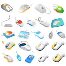 マウス,パソコン,ペンタブレット,電子ペン ベクターイラスト素材