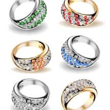 結婚指輪 ベクターイラスト素材