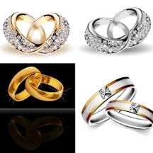 結婚指輪,ペアリング ベクターイラスト素材
