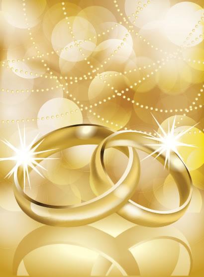 結婚指輪,背景イメージ ベクターイラスト素材