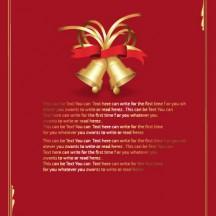 クリスマス,ベル,飾り罫線枠,フレーム枠 ベクターイラスト素材