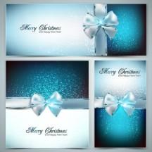 クリスマスギフト,リボン ベクターイラスト素材