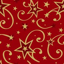 クリスマスパーティー,星の飾りパターン ベクターイラスト素材