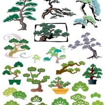 松の木 ベクターイラスト素材