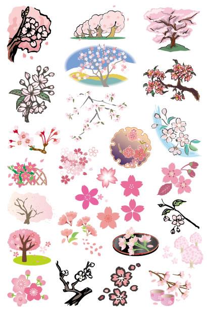 桜,さくら,サクラ ベクターイラスト素材