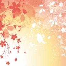 桜の花びら,背景 ベクターイラスト素材